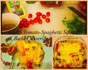 roasted tomato basil casserole