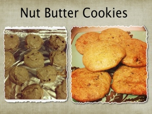 nut butter organic cookies