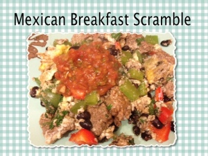 mexican breakfast scramble
