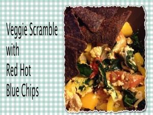 organic veggie scramble