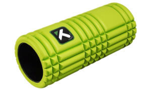 This eco-friendly roller uses less materials since the center is hollow. It also helps you to massage the body or play with your balance in your workout.