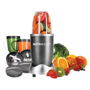 The Nutribullet is my new favorite tool. It is far less expensive than the glorious Vitamix, but you get the same amazing blend ability. Plus its super fast and easy to clean.