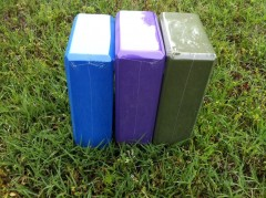 Eco-Friendly yoga blocks are a great way to enhance your yoga and fitness practice. Everyone should probably have 2 of these in their fitness collection.