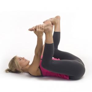 happy baby pose, yoga, hip stretches