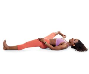 supta Padangusthasana, yoga, leg stretches